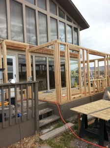 framing for green house